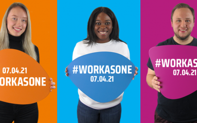 #WORKASONE